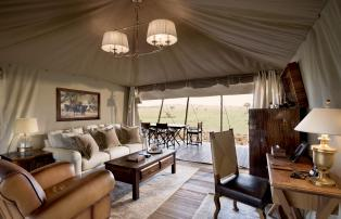 Afrika Tansania Serengeti Central One Nature Nyaruswiga Serengeti Family Tent Si