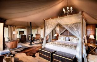 Afrika Tansania Serengeti Central One Nature Nyaruswiga Serengeti Luxury Tent Be