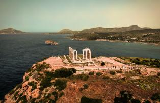 Hellas by the sea Kap Souinion Poseidon Tempel