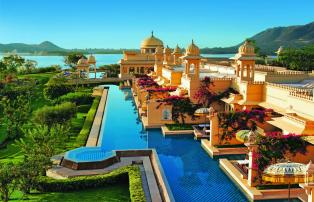 Asien Indien Udaipur The Oberoi Udaivilas TOUV Semi private pool_1920