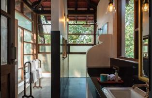 Asien Indien Goa The Postcard Moira Bathroom with terrace - The Postcard Moira _