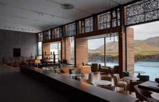 Europa Island Grindavik The Retreat at Blue Lagoon BL_Retreat_Lobby_1920