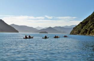 Australien_NZ_Polynesien Neuseeland Südinsel Marlborough Sound The Marlborough L