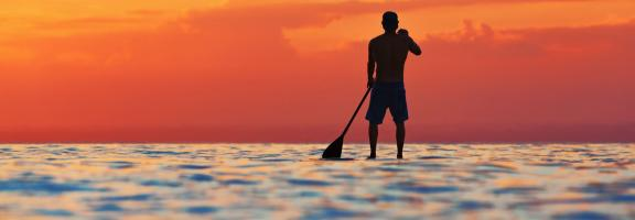 Asien Indonesien Stand up paddle