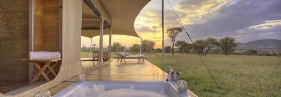Afrika Tansania Serengeti Central Roving Bushtops Camp