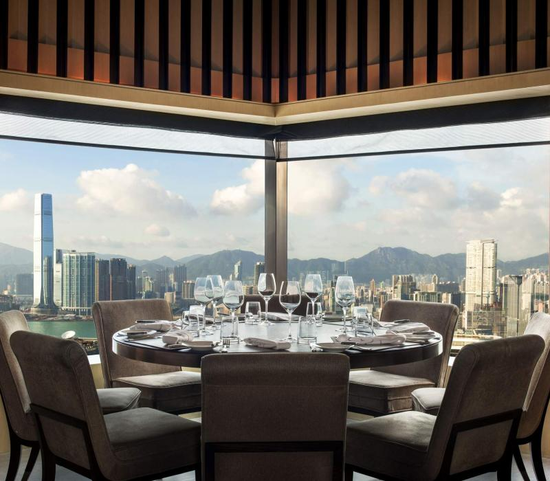 Asien China Hong Kong The Upper House Level 49_Cafe Gray Deluxe_semi-private din